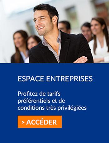 Espace entreprises